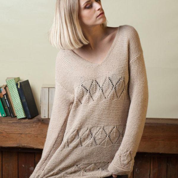 pullover traforato